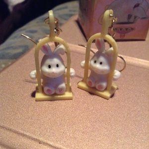 Adorable Bunny earrings